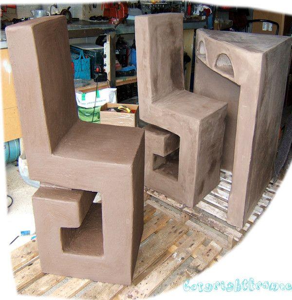 suite meuble d 39 angle beton cire centerblog. Black Bedroom Furniture Sets. Home Design Ideas